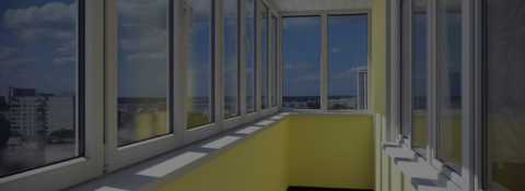 Комплекснаяотделка балконов и лоджий. Остекление и утепление.